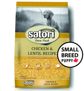 Satori Oven Fresh Chicken Small Breed Puppy Dog Food