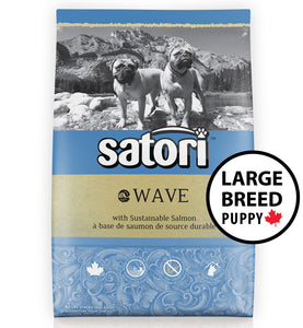 Satori Wave Salmon Large Breed Puppy Dry Dog Food