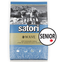 Load image into Gallery viewer, Satori Wave Salmon Senior Dry Dog Food