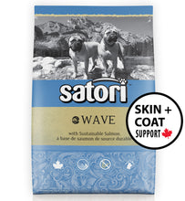 Load image into Gallery viewer, Satori Wave Salmon Skin and Coat Support Dry Dog Food