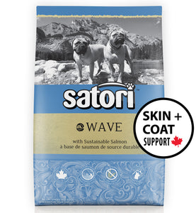 Satori Wave Salmon Skin and Coat Support Dry Dog Food