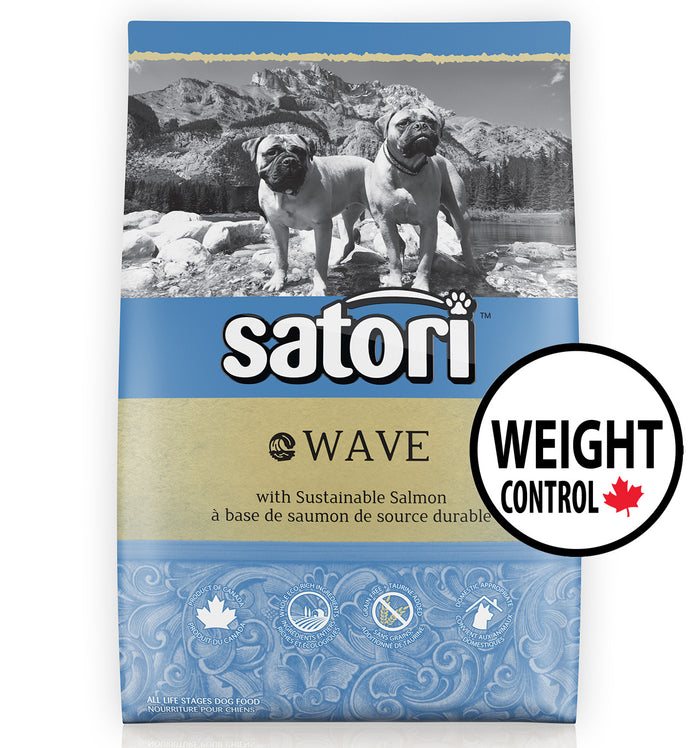 Satori Wave Salmon Weight Control Dry Dog Food