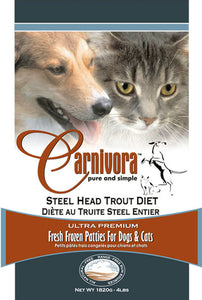 Carnivora Trout Diet Raw Dog Food