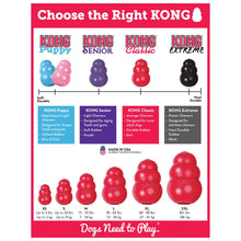Load image into Gallery viewer, Kong Classic Red Dog Toy