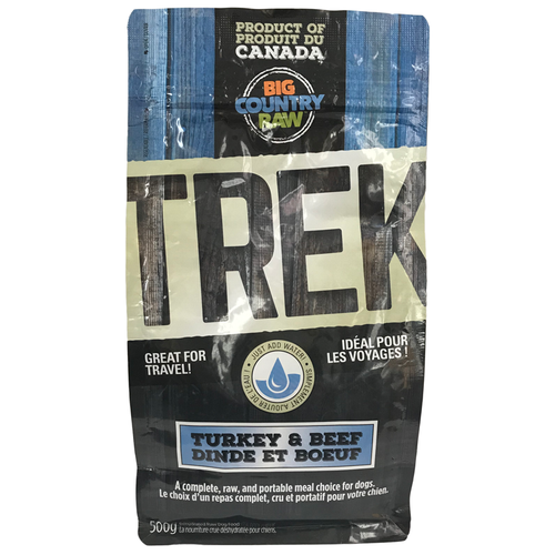 SPECIAL ORDER Big Country Raw TREK - Turkey and Beef Formula - 500g