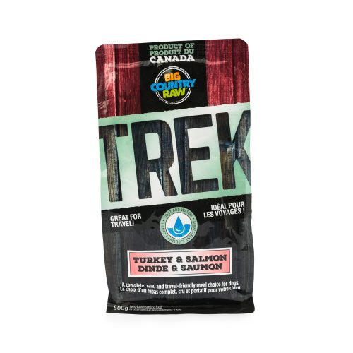 SPECIAL ORDER Big Country Raw TREK - Turkey and Salmon Formula - 500g