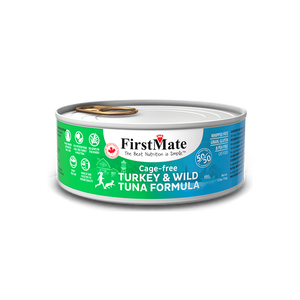 FirstMate Turkey & Tuna Canned Cat Food