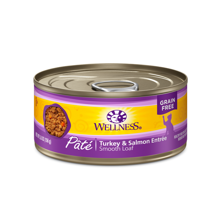 Wellness Turkey & Salmon Canned Cat Food