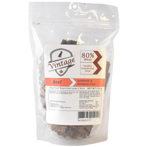 Vintage Treats 150g Beef Dog Treats