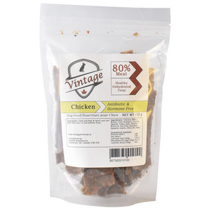Vintage Treats 150g Chicken Dog Treats