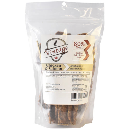 Vintage Treats 150g Chicken & Salmon Dog Treats