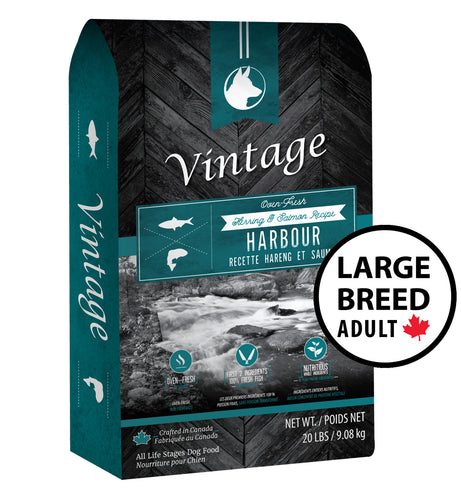 Vintage Oven Fresh Harbour Salmon & Herring Large Breed Adult Dog Food
