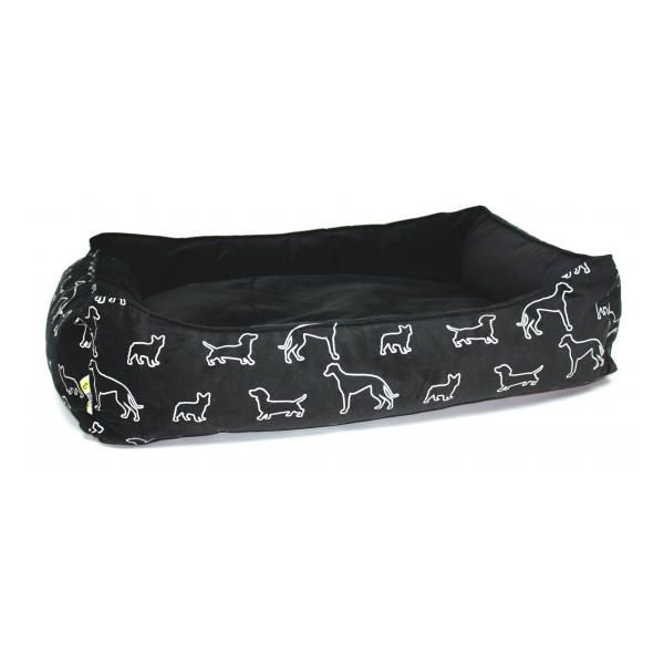 Be One Breed Cozy Bed Black Doggies Dog Bed