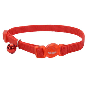 Coastal Adjustable Cat Collar 8-12IN Breakaway Red