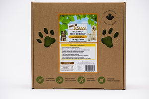 Bold Raw 2.95kg Beef Raw Dog Food