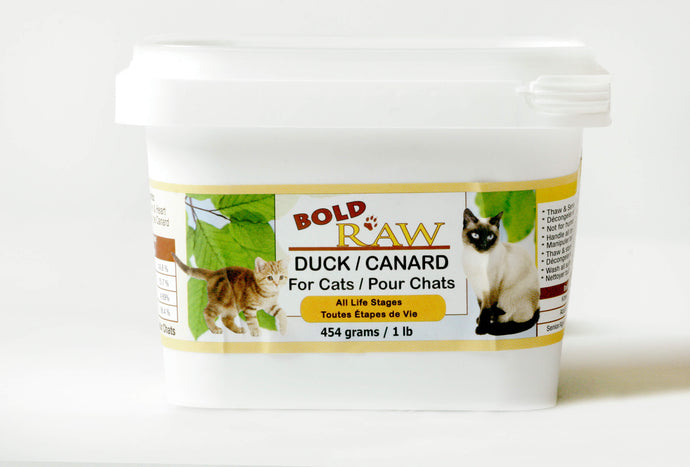 Bold Raw 454g Duck Raw Cat Food