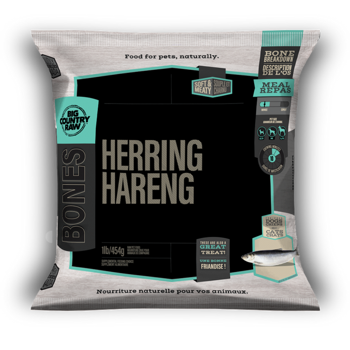 SPECIAL ORDER Big Country Raw Herring - 1 lb