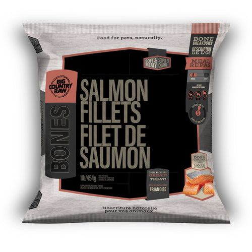 Big Country Raw Salmon Fillets- 1 lb