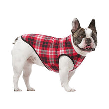 Load image into Gallery viewer, Canada Pooch Reversible Vest Black Dog Jacket
