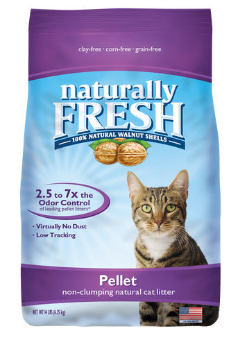 Naturally Fresh Walnut Based Pellet Litter