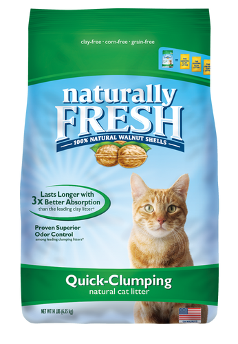 Naturally Fresh Walnut Based Cat Litter