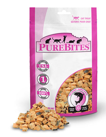 PureBites Salmon 26g Cat Treats
