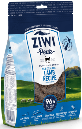 ZiwiPeak Air Dried Lamb Cat Food