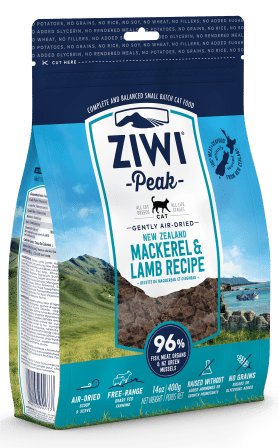 ZiwiPeak Air Dried Mackerel & Lamb 1kg Cat Food