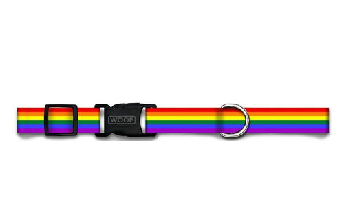 WOOF Adjustable Collar Pride