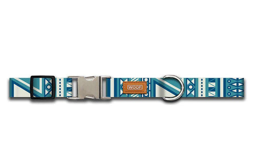 WOOF Adjustable Collar Aztec
