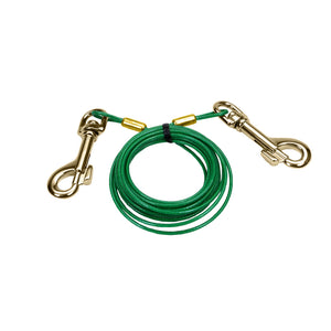 Titan Dog Tie Out Cable Puppy 12ft