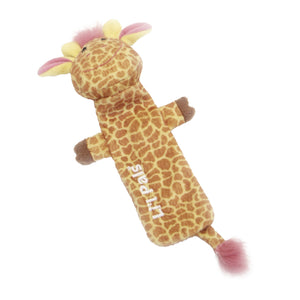 Li'l Pals Plush Crinkle Giraffe Dog Toy