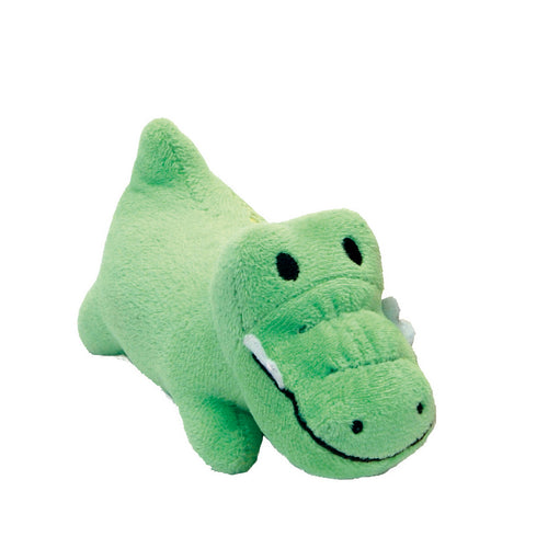 Li'l Pals Plush Gator Dog Toy