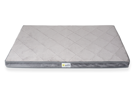 Be One Breed Diamond Bed Gray Dog Bed