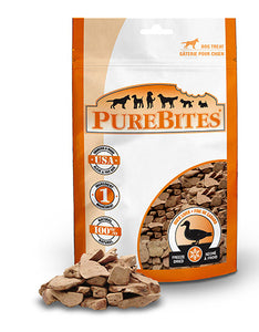 PureBites Duck 74g Dog Treats