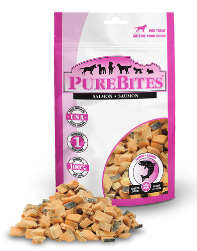PureBites Salmon 70g Dog Treats