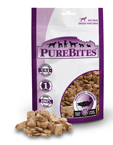 PureBites Ocean Whitefish 50g Dog Treats