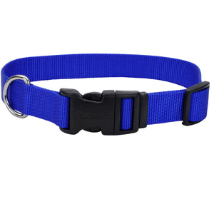 Coastal Adjustable Dog Collar Tuff Blue