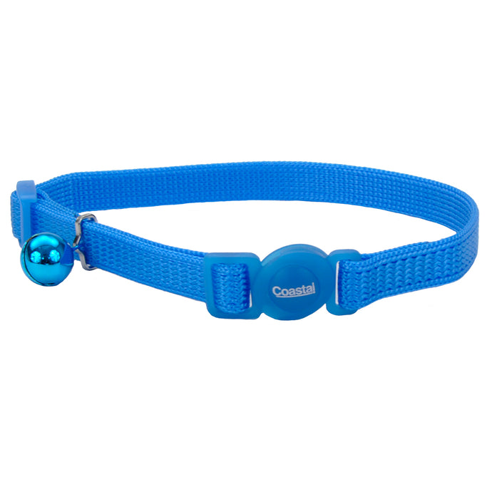 Coastal Adjustable Cat Collar 8-12IN Breakaway Light Blue