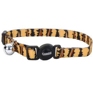 Coastal Adjustable Safe Cat Fashion Collar 8-12IN Breakaway Tiger