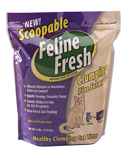 Feline Fresh Scoopable Cat Litter