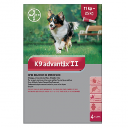 Bayer Tick and Flea Advantix II Large Dog Between 11kg - 25kg