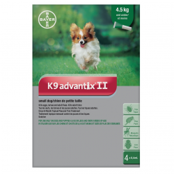 Bayer Tick and Flea Advantix II Small Dog Under 4.5kg
