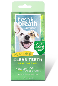 Tropiclean Fresh Breath Oral Gel 118ml Dog