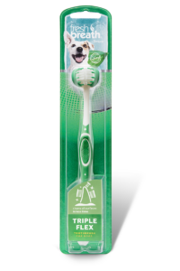 Tropiclean Fresh Breath TripleFlex Toothbrush for Dogs
