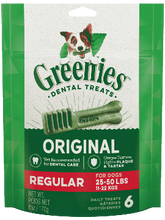 Load image into Gallery viewer, Greenies Regular Dental Chews