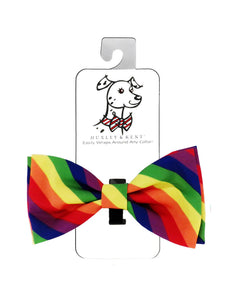 Huxley and Kent Pride Bow Tie