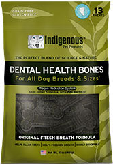 Indigenous 481g Fresh Breath Dental Chews