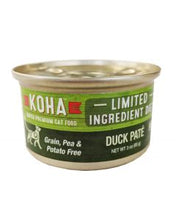 Load image into Gallery viewer, Koha Duck Pate Cat Food