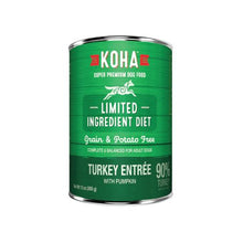 Load image into Gallery viewer, Koha 369g Dog Turkey Pate